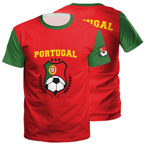 Portugal Youth Jersey | POR X Red