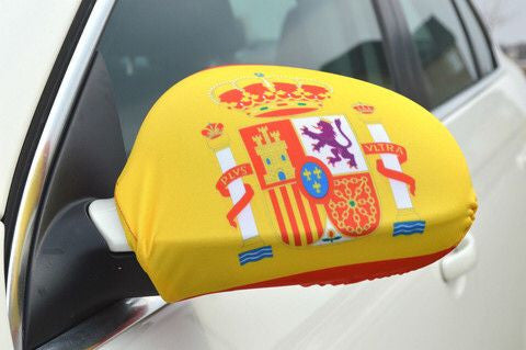 Mirror Flags (Set of 2) | Spain