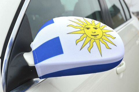 Mirror Flags (Set of 2) | Uruguay