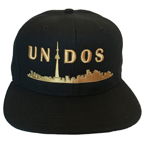Unidos Youth Laceback | Gold X Black