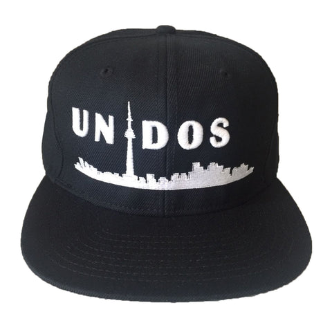 Unidos Youth Laceback | White X Black
