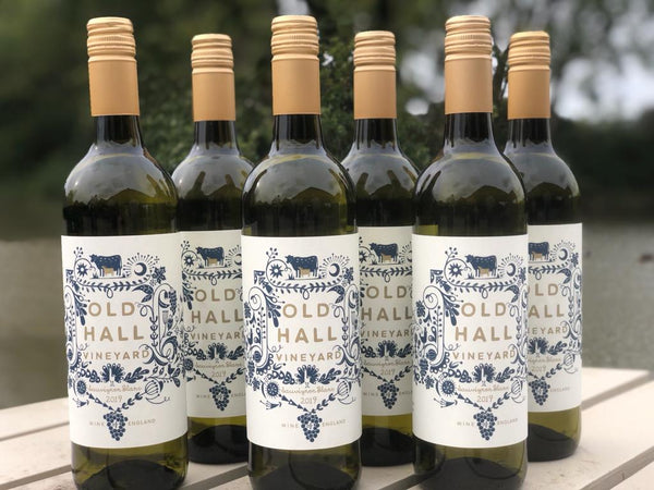 Old Hall Vineyard Sauvignon Blanc 2019 - Case of 12