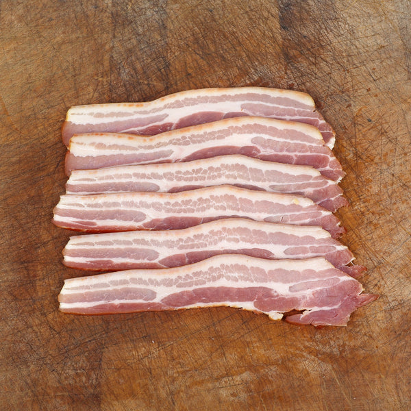 1kg Rare Breed Streaky Bacon