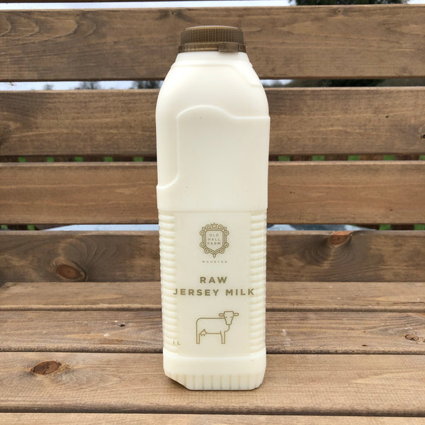 24L Raw Jersey Milk including postage and packing