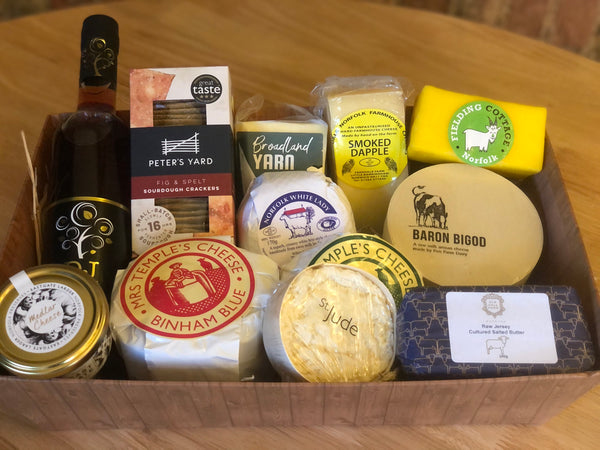 The Ultimate Cheese Hamper