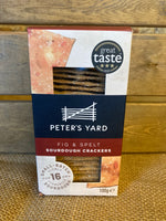 Peter's Yard Fig and Spelt Sourdough Crackers