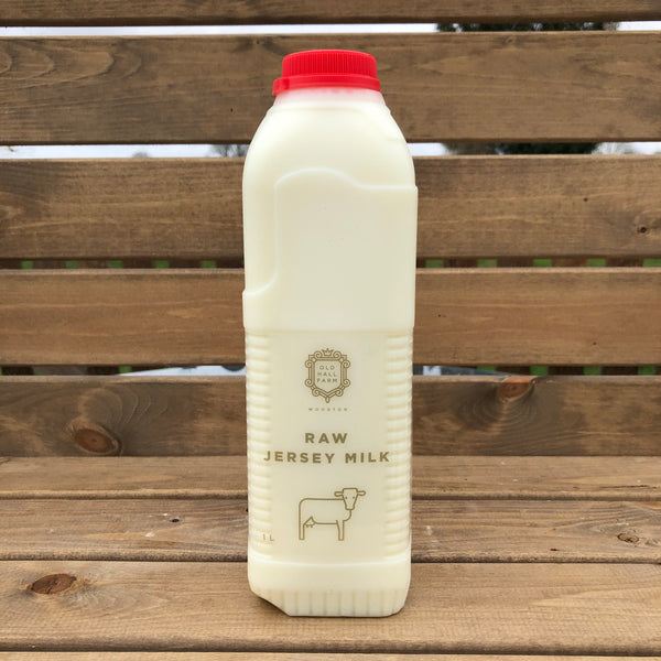 Raw Jersey Milk Skimmed 1L