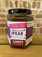 Candi's Chutney  Mulled Pear and Norfolk Perry Chutney