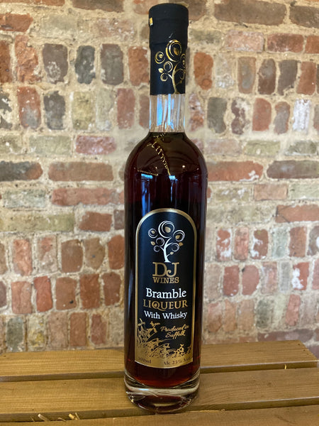 DJ Wines Bramble Liqueur with Whiskey