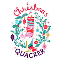 Christmas Card - Christmas Quacker