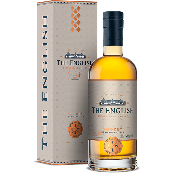 The English Whiskey Company's The English - Smokey