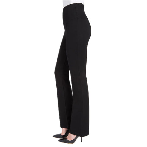 Womens Lysse Wide Leg Ponte Pant in Black - Brother's on the Boulevard