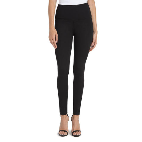 Womens Lysse Ponte Center Seam Leggings in Black - Brother's on the Boulevard