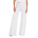 Womens Ripley Rader Wide Leg Pant in Ivory - Brother's on the Boulevard