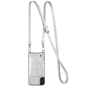 Womens Bandolier Emma Pebble iPhone Case in Silver - Brother's on the Boulevard
