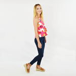 Womens Crosby by Mollie Burch Brennan Tank in Floral - Brother's on the Boulevard