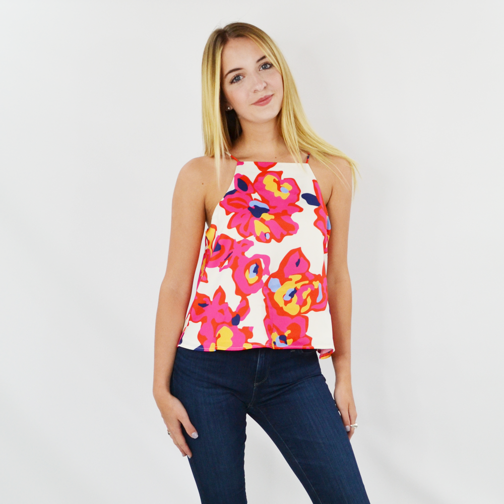 Crosby by Mollie Burch Brennan Tank in Floral
