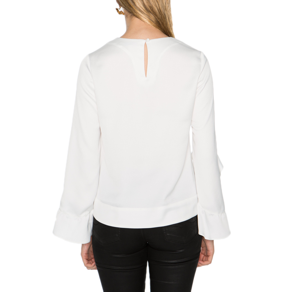 Womens Crosby Ashlyn Blouse in Bone - Brother's on the Boulevard