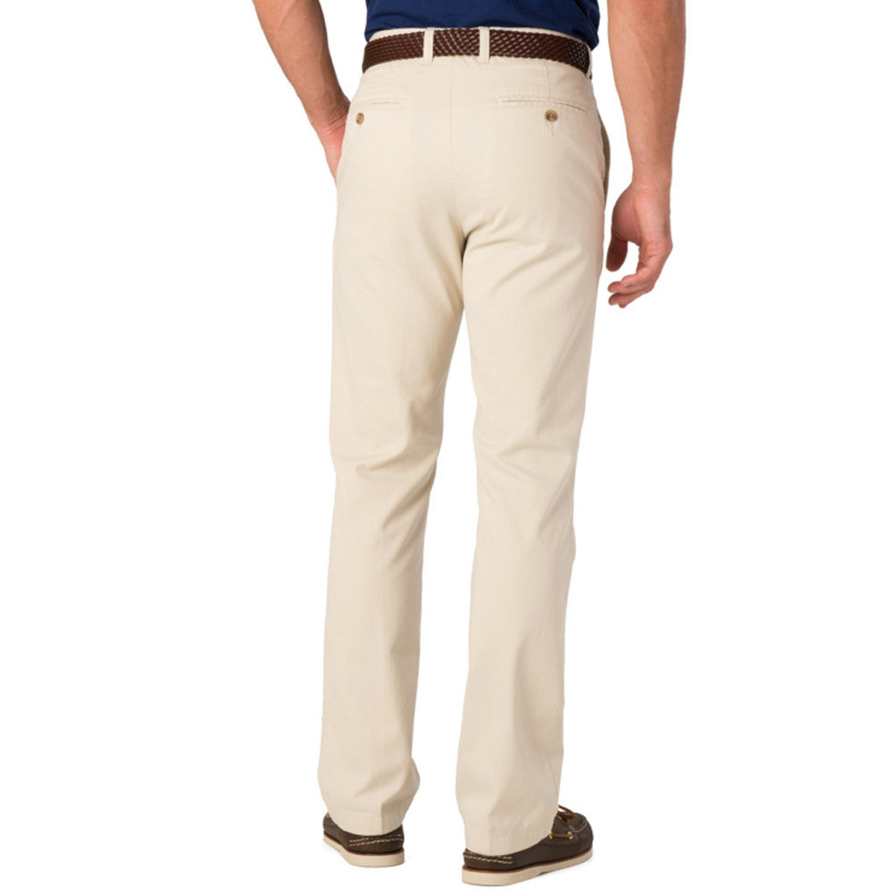 Mens Southern Tide The Skipjack Classic Fit Pants in Stone - Brother's on the Boulevard