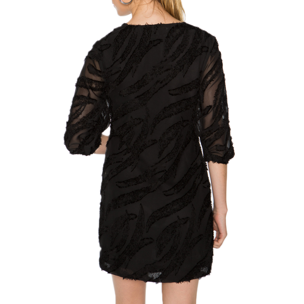 Womens Crosby by Mollie Burch Ramey Dress in Black Whispy - Brother's on the Boulevard
