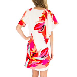 Womens Crosby by Mollie Burch Jeni Dress in Bougainvillea - Brother's on the Boulevard