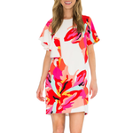 Womens Crosby Jeni Dress in Bougainvillea - Brother's on the Boulevard