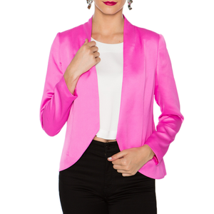 Womens Crosby Robbie Blazer in Shocking Pink - Brother's on the Boulevard