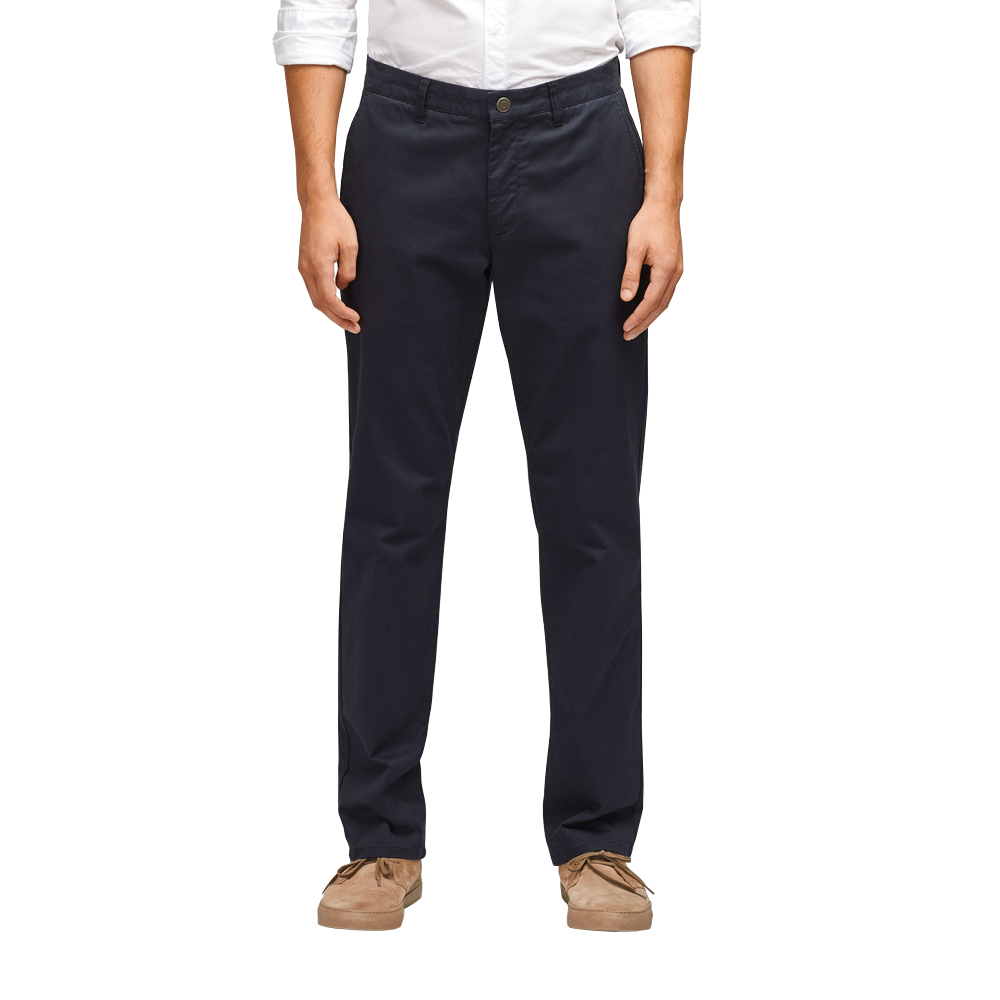 Mens Bonobos Stretch Washed Chino Slim Pant in Jet Blue - Brother's on the Boulevard