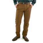Bonobos Stretched Washed Chino in Brown