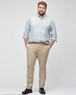 Mens Bonobos Stretched Washed Chino Slim Pant in Khaki - Brother's on the Boulevard