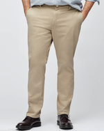 Bonobos Stretched Washed Chino Slim Pant in Khaki