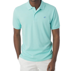 Mens Southern Tide Skipjack Polo in Aqua - Brother's on the Boulevard
