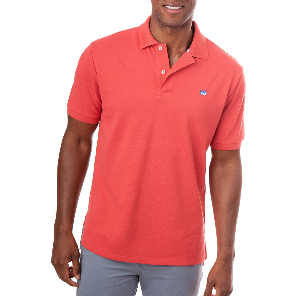 Mens Southern Tide Skipjack Polo in Terracotta - Brother's on the Boulevard