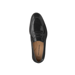 Mens Johnston & Murphy Bradford Penny Loafer in Black - Brother's on the Boulevard