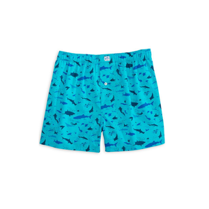 Mens Southern Tide Diver Down Boxer in Turquoise - Brother's on the Boulevard