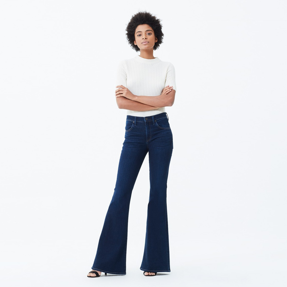 Womens Citizens of Humanity Chloe Flare Jeans in Galaxy - Brother's on the Boulevard