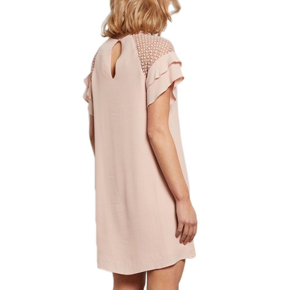 Womens Catherine Kate Superior Mix Dress in Blush - Brother's on the Boulevard