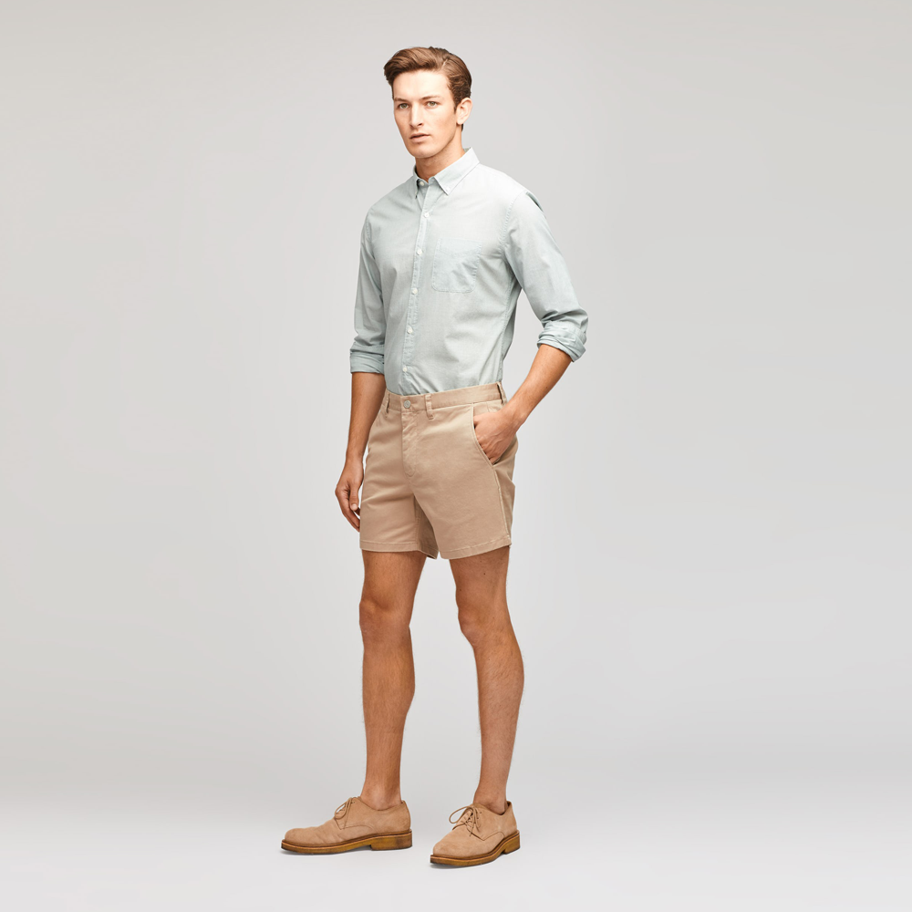 "Bonobos Stretch Washed Chino 9"" Shorts in Khaki"
