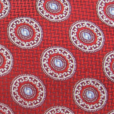 Brother's on the Boulevard Handmade Necktie in Red