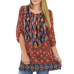 Tolani Saylor Tunic in Rust