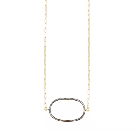 Womens Nicole Leigh Gold Rachel Necklace - Brother's on the Boulevard