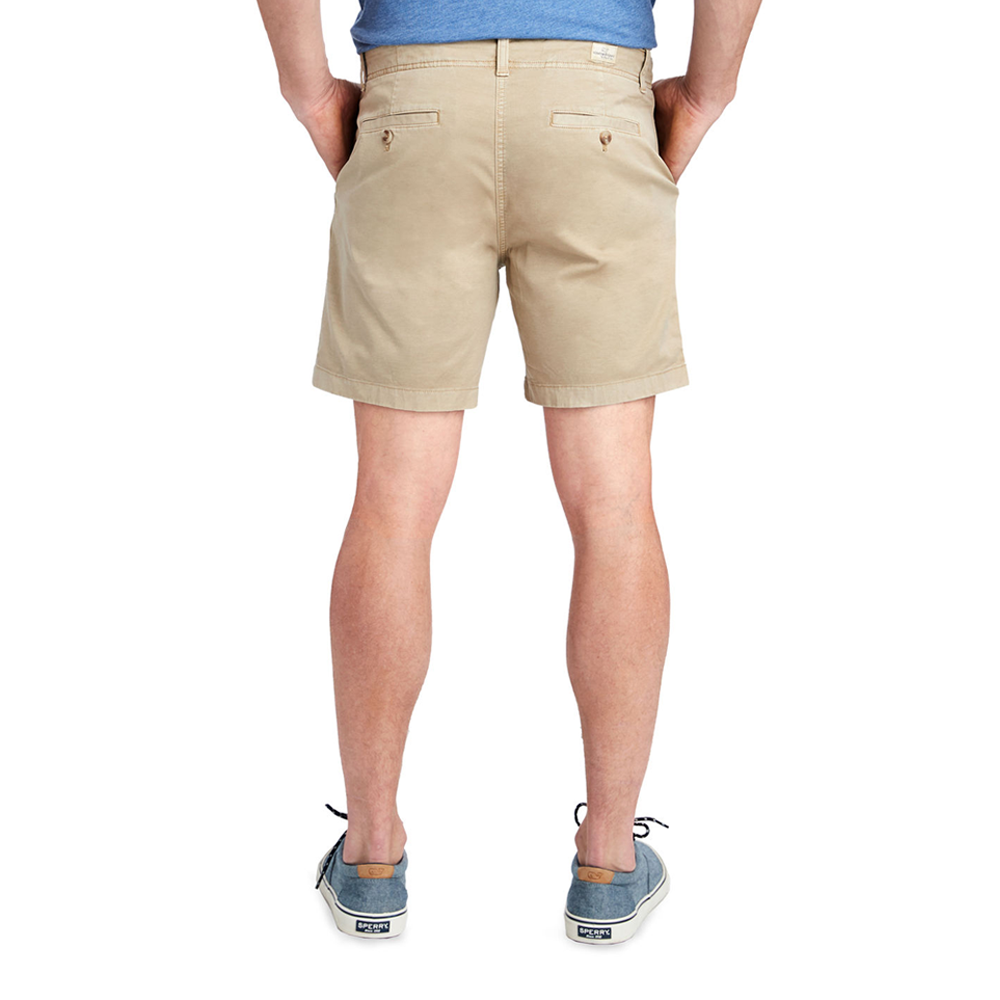"Mens Vineyard Vines 7"" Island Shorts in Khaki - Brother's on the Boulevard"