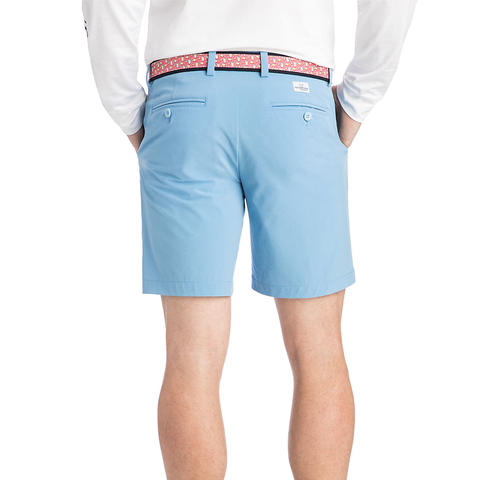 Mens Vineyard Vines 8 Inch Performance Breaker Shorts in Ocean Blue - Brother's on the Boulevard