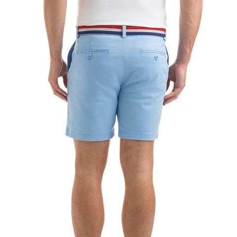 "Vineyard Vines 7"" Stretch Breaker Shorts in Cloud"