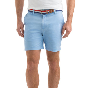 "Mens Vineyard Vines 7"" Stretch Breaker Shorts in Cloud - Brother's on the Boulevard"