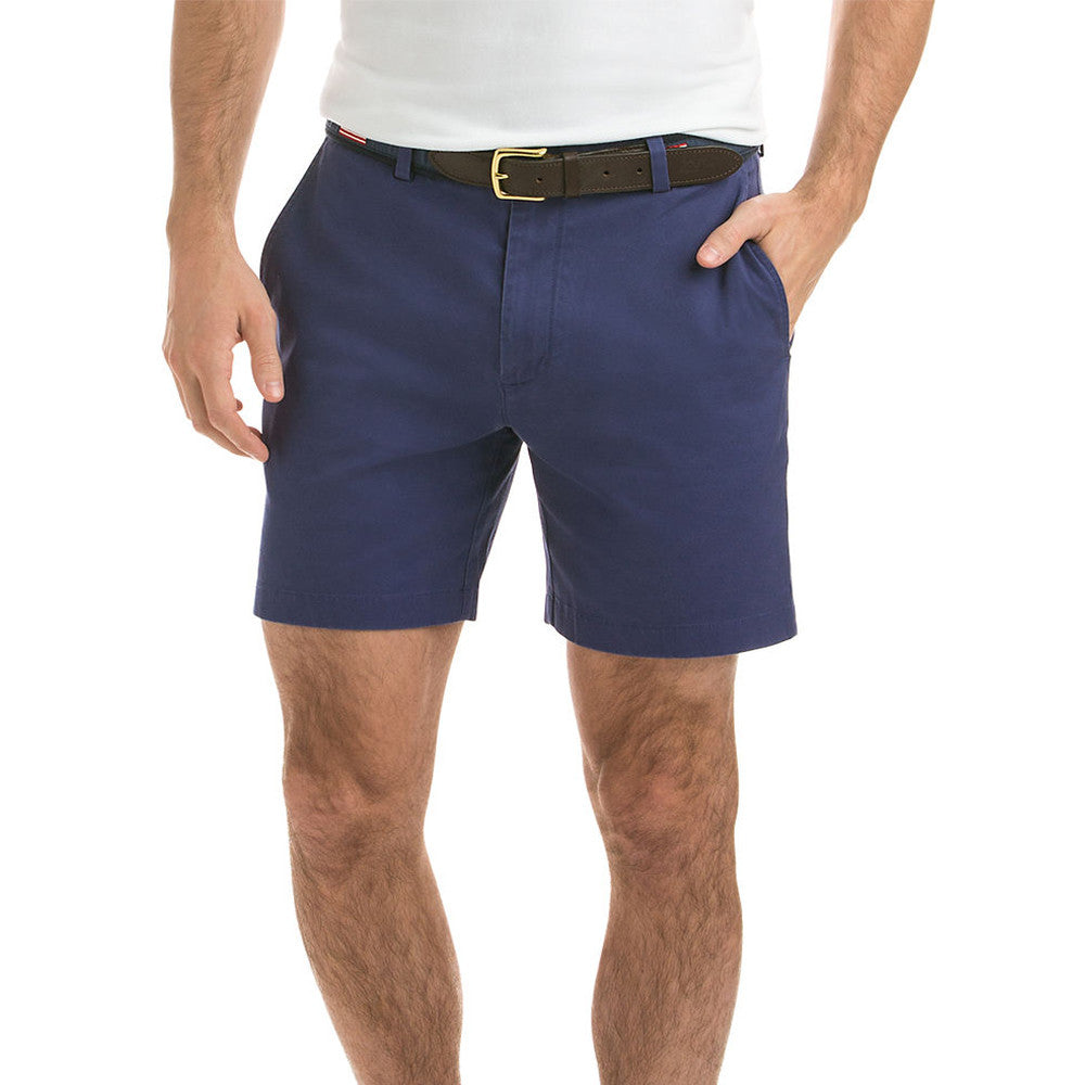 "Mens Vineyard Vines 7"" Stretch Breaker Shorts in Deep Cobalt - Brother's on the Boulevard"