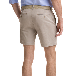 Mens Vineyard Vines 7 Inch Stretch Breaker Shorts in Khaki - Brother's on the Boulevard
