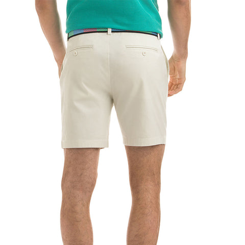 "Vineyard Vines 7"" Stretch Breaker Shorts in Stone"