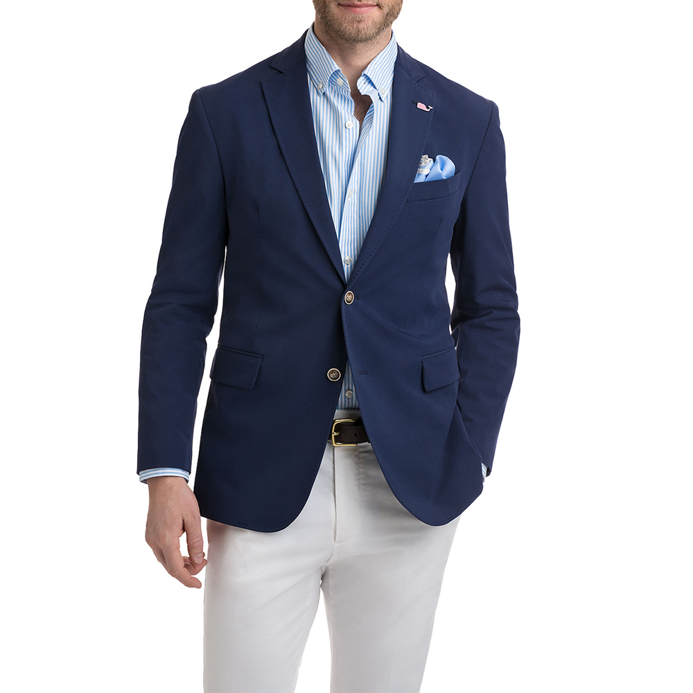 Vineyard Vines Performance Blazer in Vineyard Navy