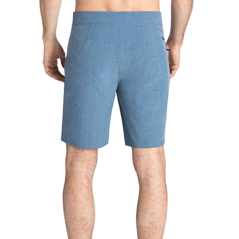 Mens Vineyard Vines Heather Stretch Board Shorts in Moonshine - Brother's on the Boulevard